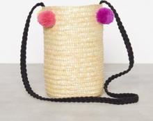 Only onlNIFFA Straw Round Bag Skuldertasker