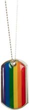 Xl Vänskapshalsband Love Regnbågsfärgad Pride 1