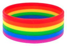 Vänskapsarmband Love One Size Regnbågsfärgad Pride 2