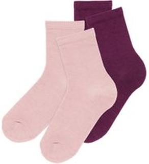 NAME IT Kids 2-pack Wool Socks Kvinna Rosa