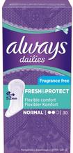 Always, Dailies Normal Liner,