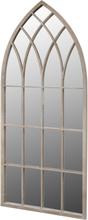 vidaXL Spegel med gotisk design inom-/utomhus 115 x 50 cm