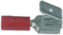 Abiko KA1507FLSH-CP Kabelsko flatstiftshylsa med hane, 10-pack