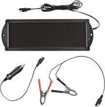 ProPlus A550059 Solcells-batteriskydd Cigarettändarkontakt, Urladdningsskydd 12 V