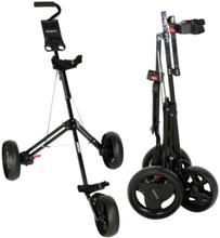 Fastfold Junior 3 Wheel Golf Trolley-Black