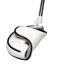 Mallet Headcover White-Putter HC