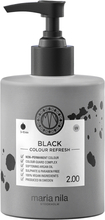 Maria Nila Colour Refresh, 2.00 Black, 300ml Maria Nila Färginpackning