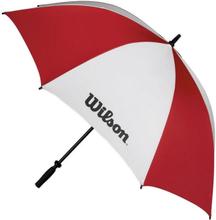 "Wilson Double Canopy Umbrella 62"" Red/White"