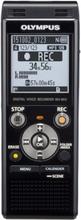 Olympus WS-853 8GB Diktafon Svart inkl laddningsbara batteri