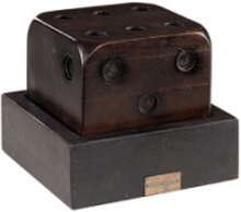 DICE on tray - Antique