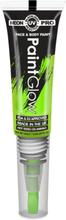 Neon UV/Blacklight Ansikt og Kroppsmaling med Kost - Limegrønn