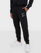 Nike Sportswear M Nsw Swoosh Pant Ft Housut Black/White