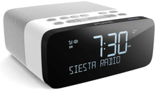 PURE FM/DAB/DAB+ Bluetooth Siesta Rise S Clockradio Polar