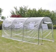 vidaXL Portabelt stort växthus