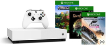 Xbox One S All-Digital Edition - 1TB (Forza 3 - Minecraft - Sea of Thieves Bundle)