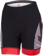 Castelli ZIPP Free Tri Shorts Sort/Rød, Super triatlonshorts!