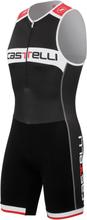Castelli Core Tri Suit Sort/Hvit, Super til sykling og løping!