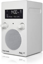 Tivoli Audio PAL + BT Hvit/Hvit