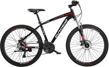"""Mountain bike 26"""" E9 - sykkel med 21 gir - sort"""
