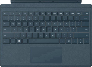 Microsoft Surface Go Signature Type Cover Tangentbord för surfplatta Passar till: Microsoft Windows®