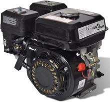 vidaXL Ottomoottori 6.5 hv 4 8 kW musta