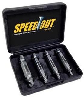 Speed Out Skruvutdragarset för trasiga skruvar