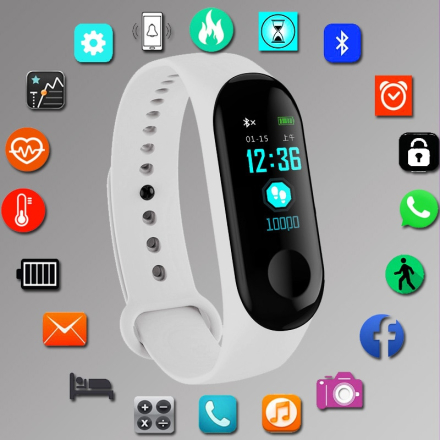 Fashion Smart Watch Silicone Women Bluetooth Waterproof Ladies montre Heart Rate Smartwatch relogio inteligente For Android IOS