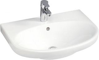 Gustavsberg Tvättställ Nautic 5556 med Blandare