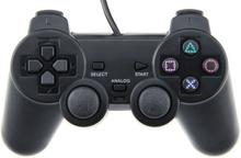 PlayStation 2: n ohjain (musta)