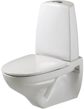 Ifö Vägghängd Toalettstol Sign 6893 Dubbelspolning Hårdsits
