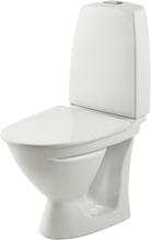 Ifö Toalettstol Sign 6832 Kort Modell Dubbelspolning Mjuksits Vit