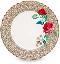 Tallrik 26,5 cm Rose khaki