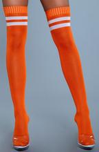 BeWicked Going Pro Thigh High Stockings Orange One Size Orangea Knästrumpor