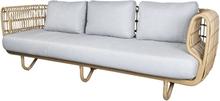 Nest OUTDOOR soffa 3-pers Cane-line