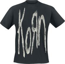 Korn - Distressed Logo -T-skjorte - svart