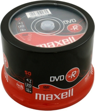 Maxell DVD-R 4,7GB 16x 50-pack Spindel