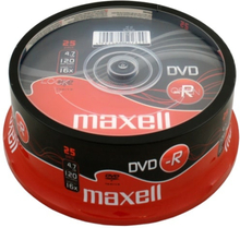 Maxell DVD-R 4,7GB 16x 25-pack Spindel