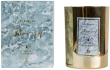 Victorian Candles Marble Blue Reef