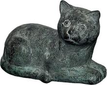 Mr Fredrik Skulptur Katt Liggande 13cm