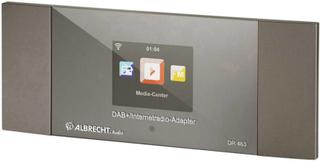 Albrecht DR 463 Internet Radio Bluetooth, DAB+, DLNA, Internetradio, FM, WiFi DLNA-kompatibel Silver