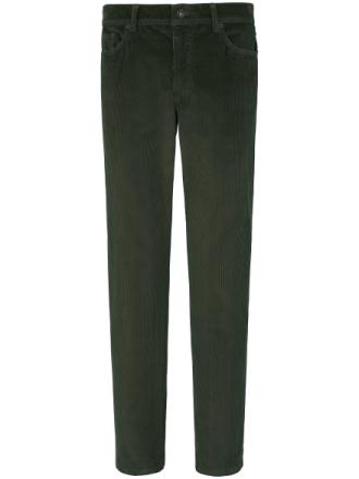 'Comfortable Fit'-fløjlsbuks Fra Brax Feel Good grøn - Peter Hahn