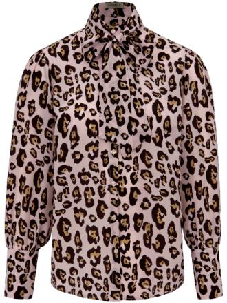 Blus i 100 % silke från Uta Raasch mångfärgad
