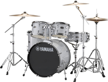 Yamaha Rydeen Studio Drumset - with stands and cymbals - Silver Glitter