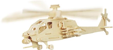 Puslespill i tre Helikopter