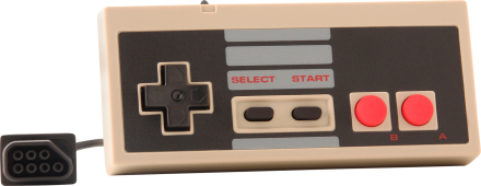 NES Retro Controller