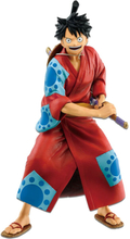 One Piece - Monkey D. Ruffy Japanese Style -Collection Figures - multicolor