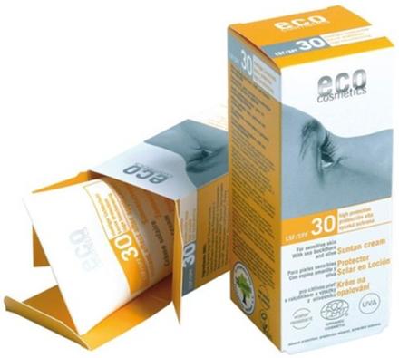 Eco Cosmetics Solkräm SPF 30, 75 ml