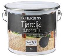 Tervaöljy 3L, kelonharmaa - Herdins
