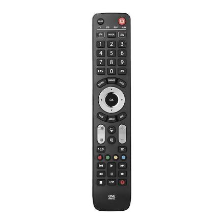 En For alle 4-i-1 udvikle fjernbetjening (Best.nr. URC7145)