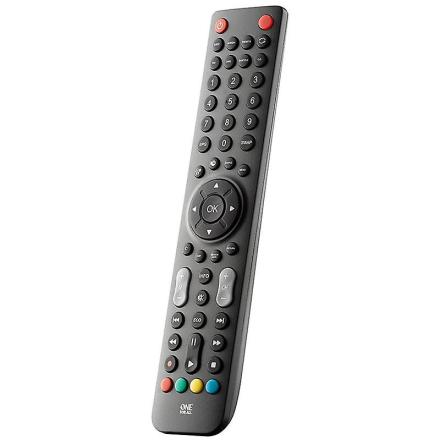 Én For alle knapper sort fjernbetjening TV skarpe sorte trykknap AAA
